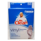 vinyl disposible cleaning gloves