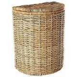 wicker laundry  hamper round 4